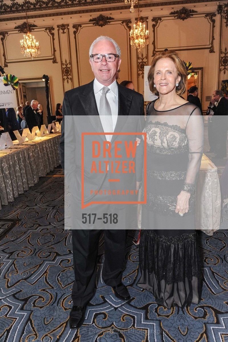 Jean-Noel Fourmeaux Du Sartel, Anita Weisberg, MEROLA OPERA Spring Benefit 2014:  A Night in New Orleans, US. Fairmont, April 12th, 2014,Drew Altizer, Drew Altizer Photography, full-service agency, private events, San Francisco photographer, photographer california
