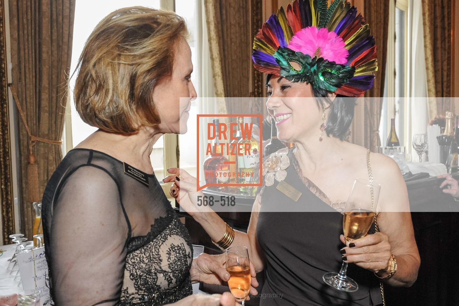 Anita Weisberg, Nafiseh Lindberg, MEROLA OPERA Spring Benefit 2014:  A Night in New Orleans, US. Fairmont, April 12th, 2014,Drew Altizer, Drew Altizer Photography, full-service agency, private events, San Francisco photographer, photographer california