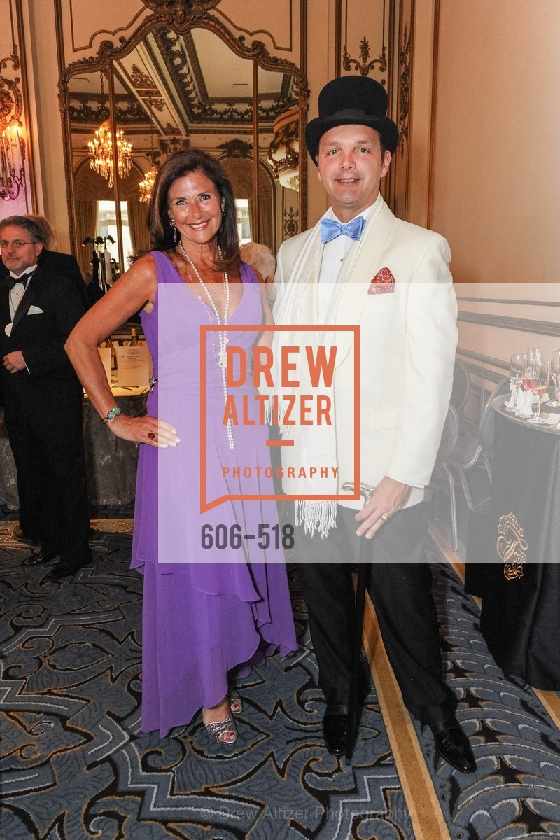 Linda Zider, Guillaume Orliac, MEROLA OPERA Spring Benefit 2014:  A Night in New Orleans, US. Fairmont, April 12th, 2014,Drew Altizer, Drew Altizer Photography, full-service agency, private events, San Francisco photographer, photographer california