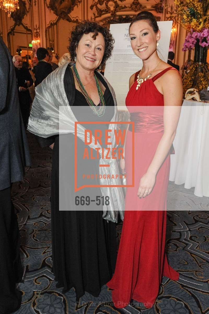 Karen Ames, Kristin Schellinger, MEROLA OPERA Spring Benefit 2014:  A Night in New Orleans, US. Fairmont, April 12th, 2014,Drew Altizer, Drew Altizer Photography, full-service agency, private events, San Francisco photographer, photographer california