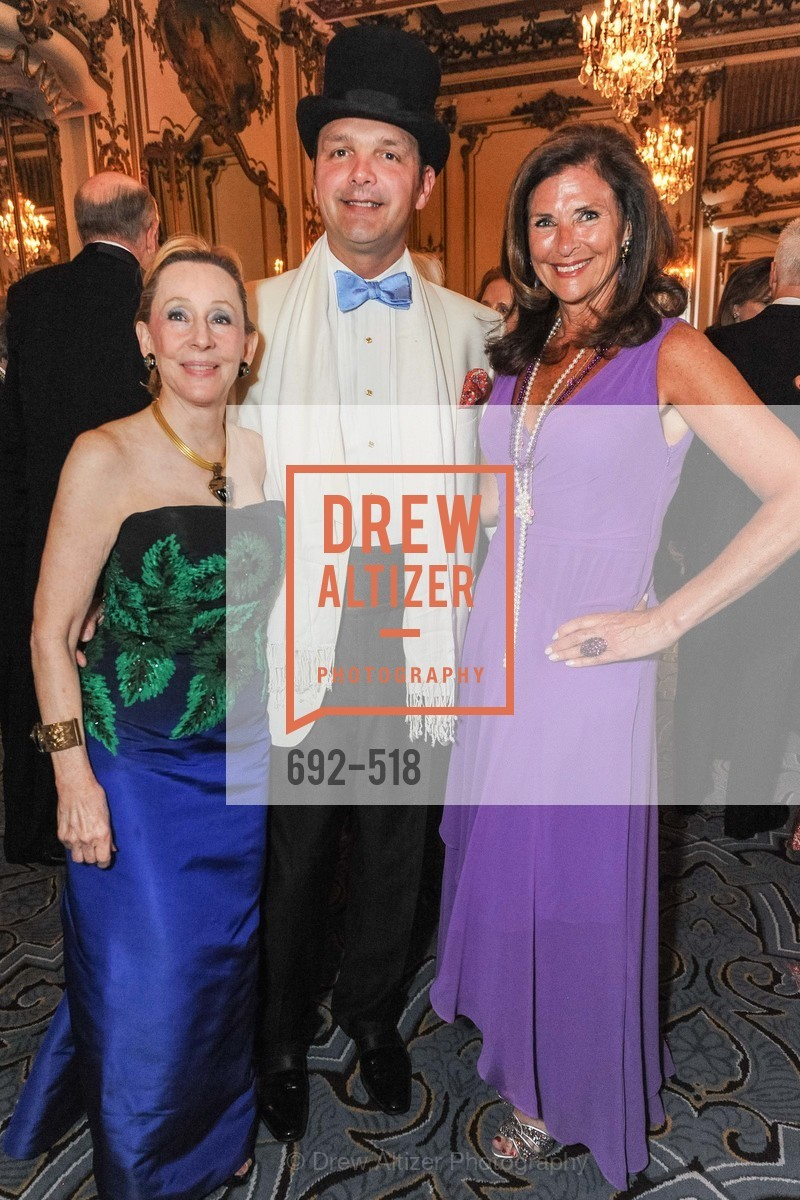 Pamela Rigg, Guillaume Orliac, Linda Zider, MEROLA OPERA Spring Benefit 2014:  A Night in New Orleans, US. Fairmont, April 12th, 2014,Drew Altizer, Drew Altizer Photography, full-service agency, private events, San Francisco photographer, photographer california