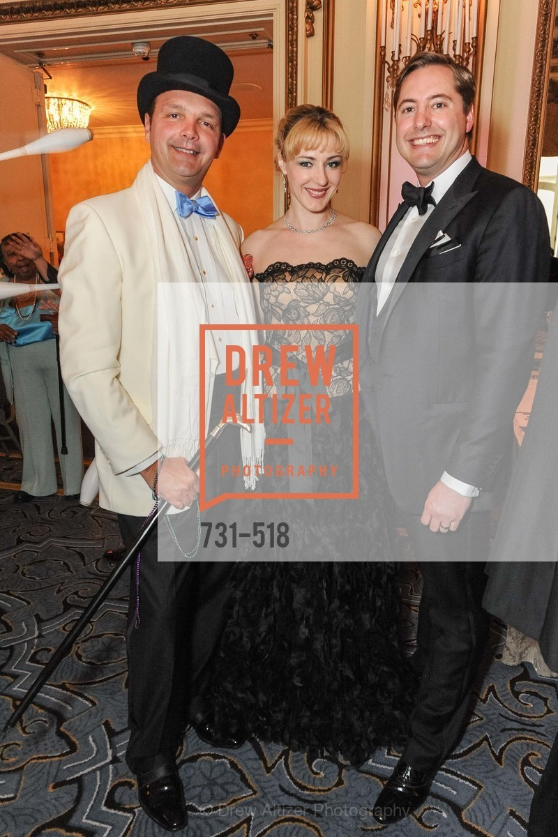 Guillaume Orliac, Liza Gustafson, Brian Gustafson, MEROLA OPERA Spring Benefit 2014:  A Night in New Orleans, US. Fairmont, April 12th, 2014,Drew Altizer, Drew Altizer Photography, full-service event agency, private events, San Francisco photographer, photographer California
