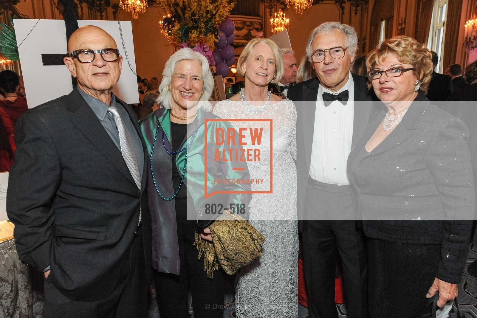 Jack Marks, Mary Grissley, Joan Lavorgna, John Lavorgna, Pearl Weitz, MEROLA OPERA Spring Benefit 2014:  A Night in New Orleans, US. Fairmont, April 12th, 2014,Drew Altizer, Drew Altizer Photography, full-service agency, private events, San Francisco photographer, photographer california