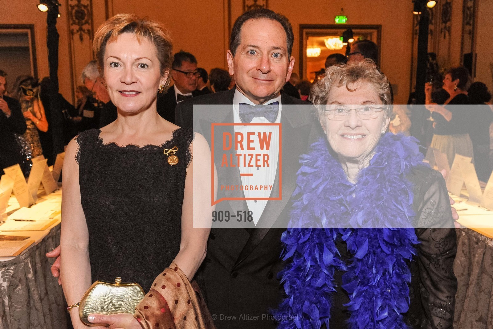 Beatrice Gomory, Paul Gomory, Judy Anderson, MEROLA OPERA Spring Benefit 2014:  A Night in New Orleans, US. Fairmont, April 12th, 2014,Drew Altizer, Drew Altizer Photography, full-service agency, private events, San Francisco photographer, photographer california