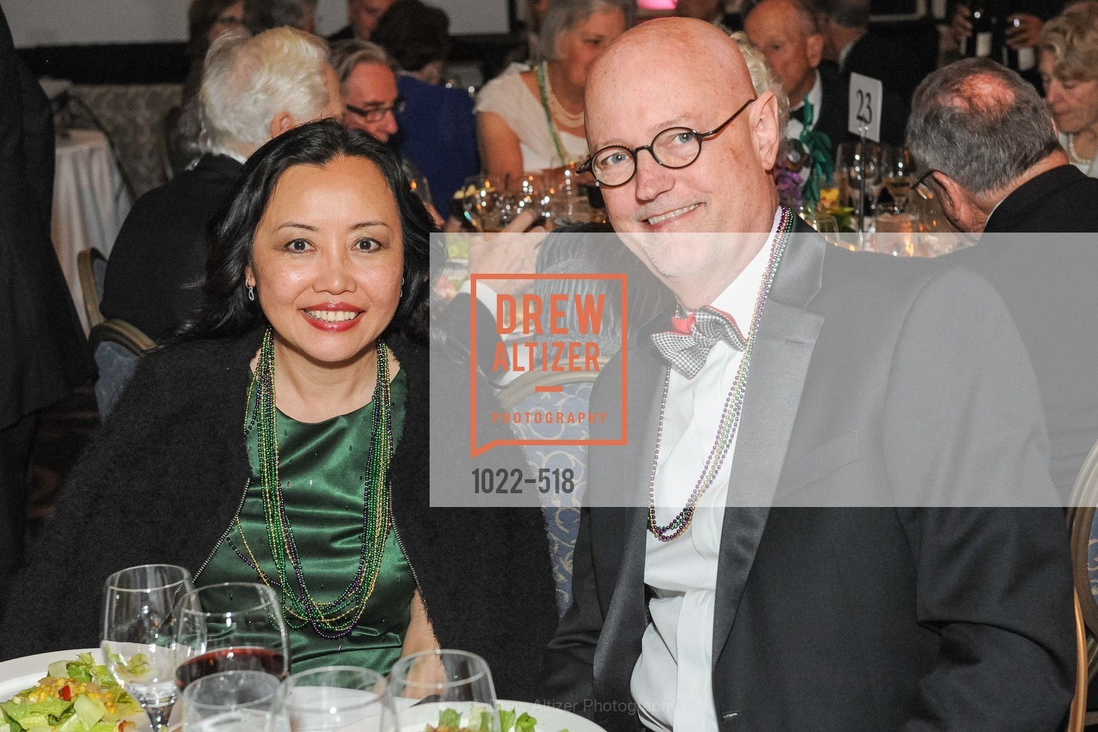 Barbara Foong, Julius Young, MEROLA OPERA Spring Benefit 2014:  A Night in New Orleans, US. Fairmont, April 12th, 2014,Drew Altizer, Drew Altizer Photography, full-service agency, private events, San Francisco photographer, photographer california