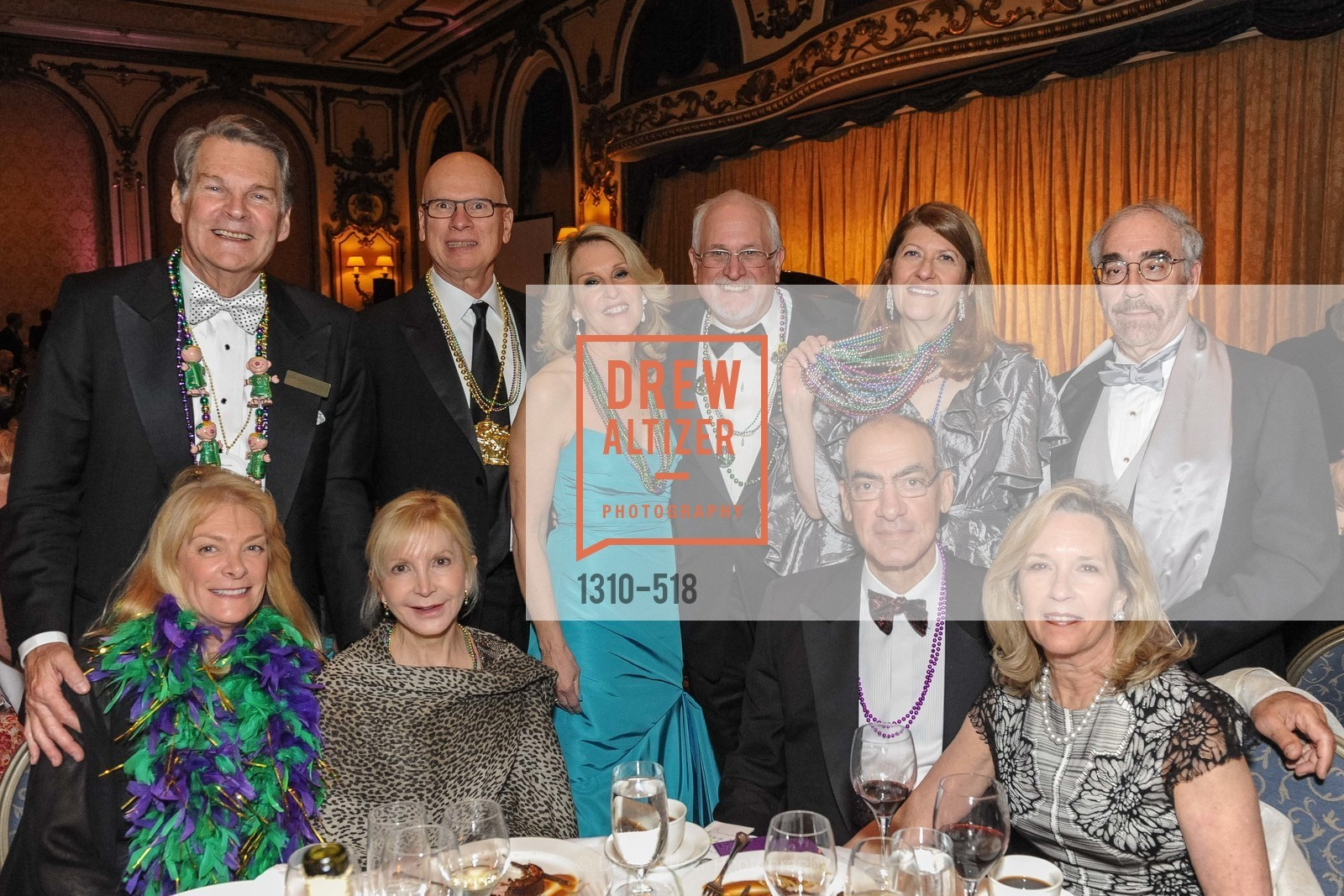 Group of guests at MEROLA OPERA Spring Benefit 2014: A Night