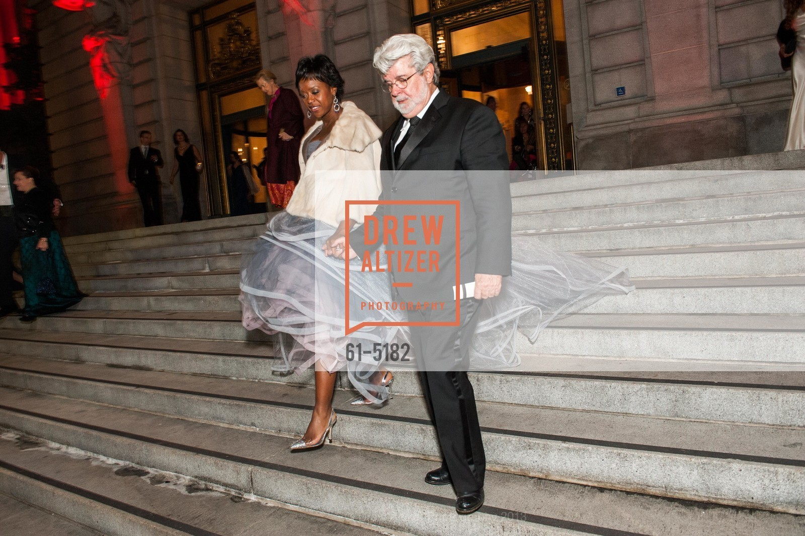 Mellody Hobson, George Lucas, Photo #61-5182