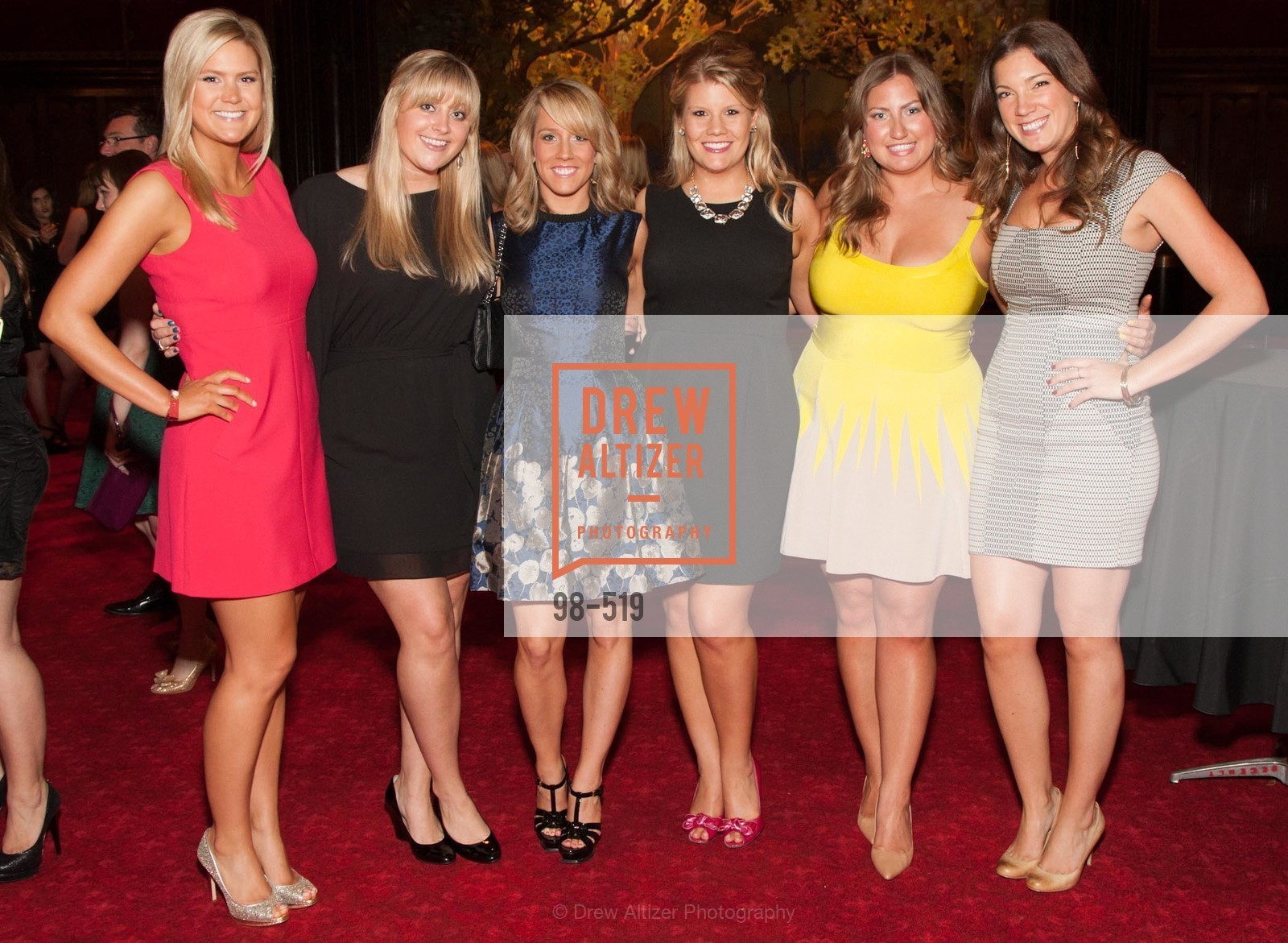 Abbey Davis, Molly Castle, Annie Mowlds, Laura Davis, Annie Benisch, Julia Stenderup, Spinsters of San Francisco Presents: 2014 Patrons Reception Honoring Lori Shigekane, US. US, April 12th, 2014,Drew Altizer, Drew Altizer Photography, full-service agency, private events, San Francisco photographer, photographer california