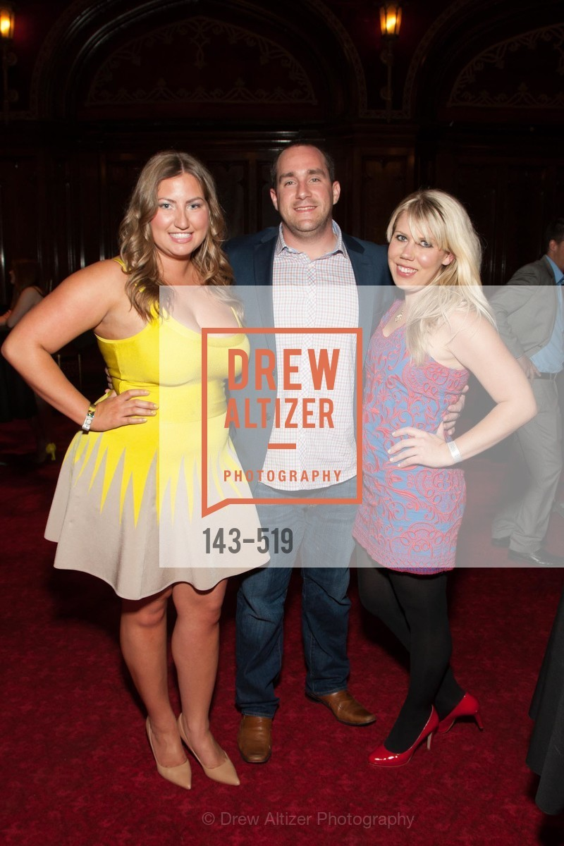 Annie Benisch, Matt Tolbirt, Caitlyn Scott, Spinsters of San Francisco Presents: 2014 Patrons Reception Honoring Lori Shigekane, US. US, April 12th, 2014,Drew Altizer, Drew Altizer Photography, full-service agency, private events, San Francisco photographer, photographer california