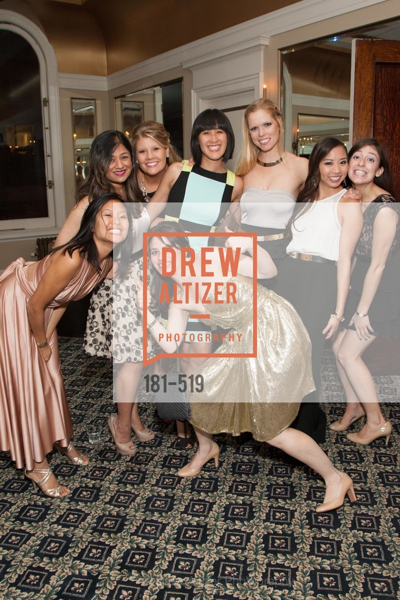 Jenny Tea, Priya Saiprasad, Laura Davis, Bailey Douglass, Tinna Ho, Mary Wunschel, Eileen Chou, Kari Fox, Spinsters of San Francisco Presents: 2014 Patrons Reception Honoring Lori Shigekane, US. US, April 12th, 2014,Drew Altizer, Drew Altizer Photography, full-service agency, private events, San Francisco photographer, photographer california