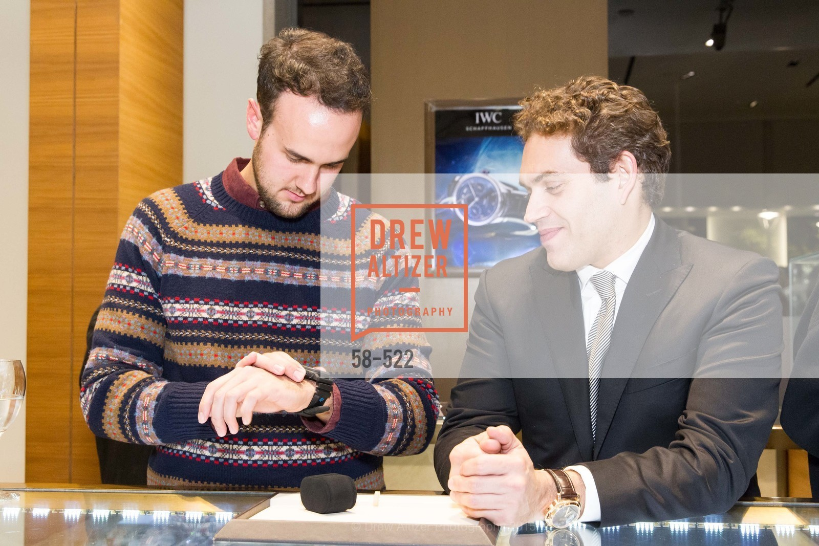 Rob Carroll, Rafael Alvarez, Shreve & Co of Palo Alto Presents The Panerai Collections, Shreve. 329 Stanford Shopping Center, November 11th, 2015,Drew Altizer, Drew Altizer Photography, full-service agency, private events, San Francisco photographer, photographer california