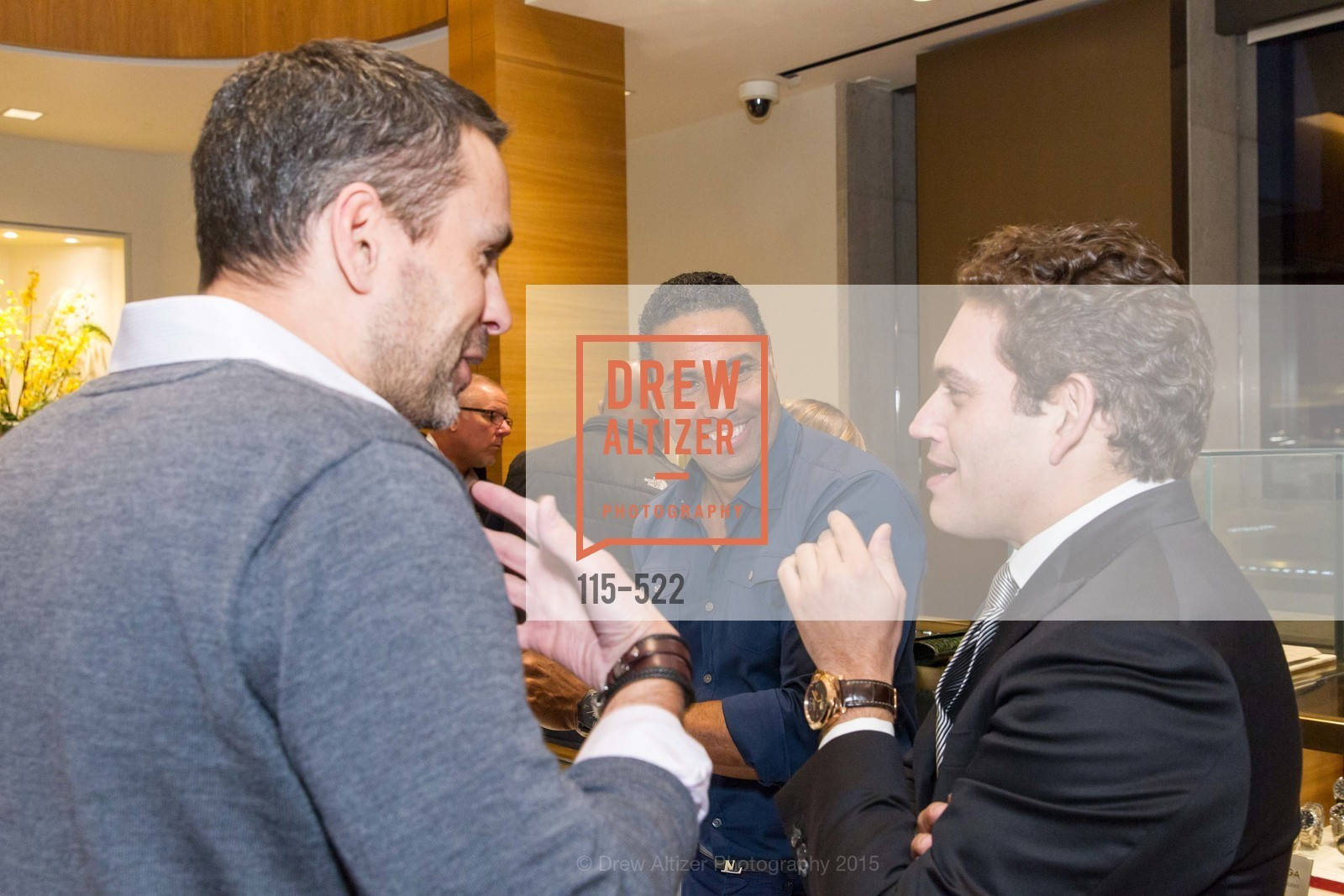 Richard D. Smith, Rafael Alvarez, Shreve & Co of Palo Alto Presents The Panerai Collections, Shreve. 329 Stanford Shopping Center, November 11th, 2015,Drew Altizer, Drew Altizer Photography, full-service agency, private events, San Francisco photographer, photographer california