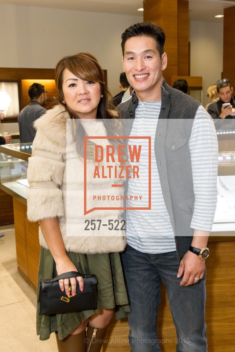 Kim Tran, John Tran, Shreve & Co of Palo Alto Presents The Panerai Collections, Shreve. 329 Stanford Shopping Center, November 11th, 2015,Drew Altizer, Drew Altizer Photography, full-service agency, private events, San Francisco photographer, photographer california