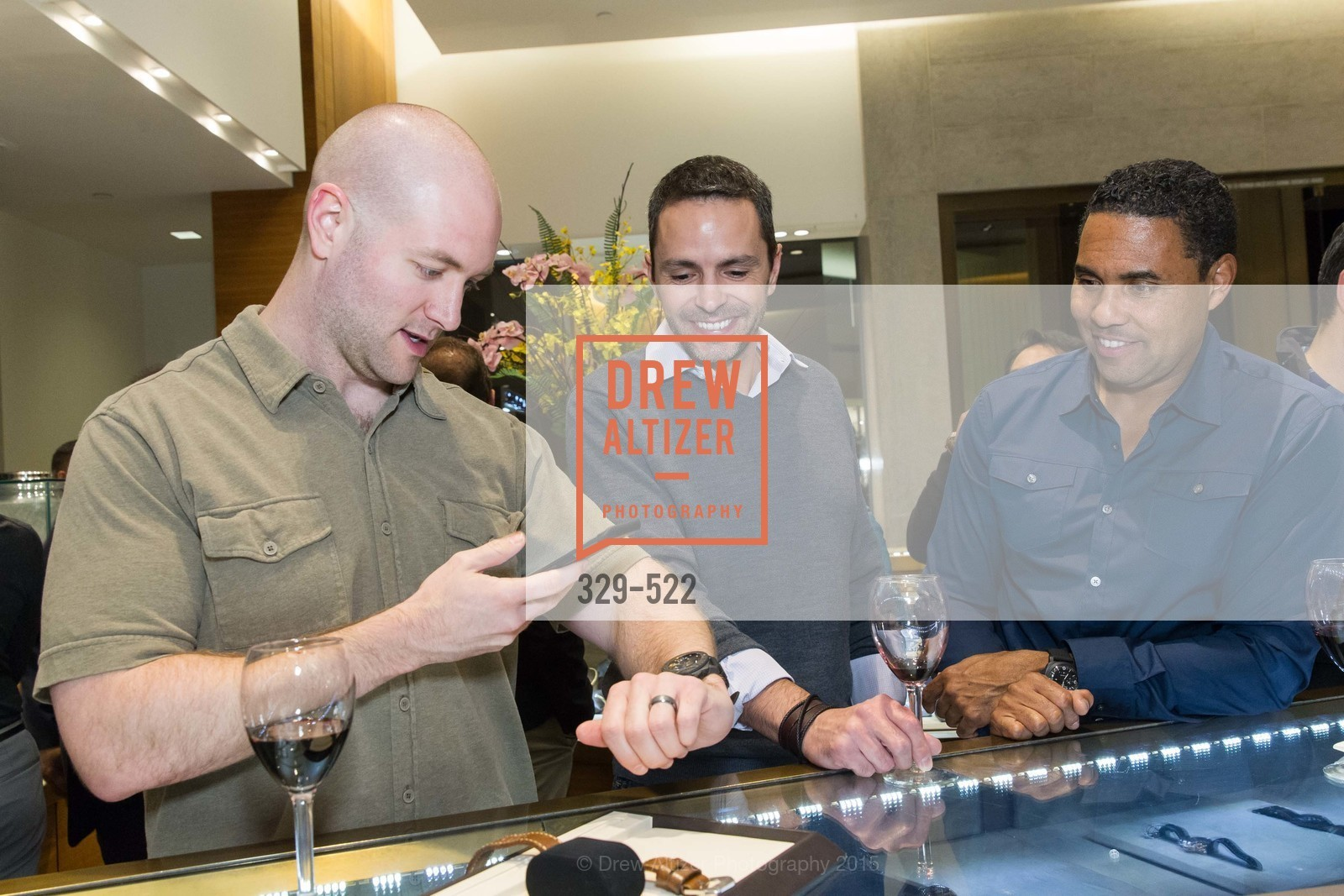 Eric Glenn, Richard D. Smith, Shreve & Co of Palo Alto Presents The Panerai Collections, Shreve. 329 Stanford Shopping Center, November 11th, 2015,Drew Altizer, Drew Altizer Photography, full-service agency, private events, San Francisco photographer, photographer california