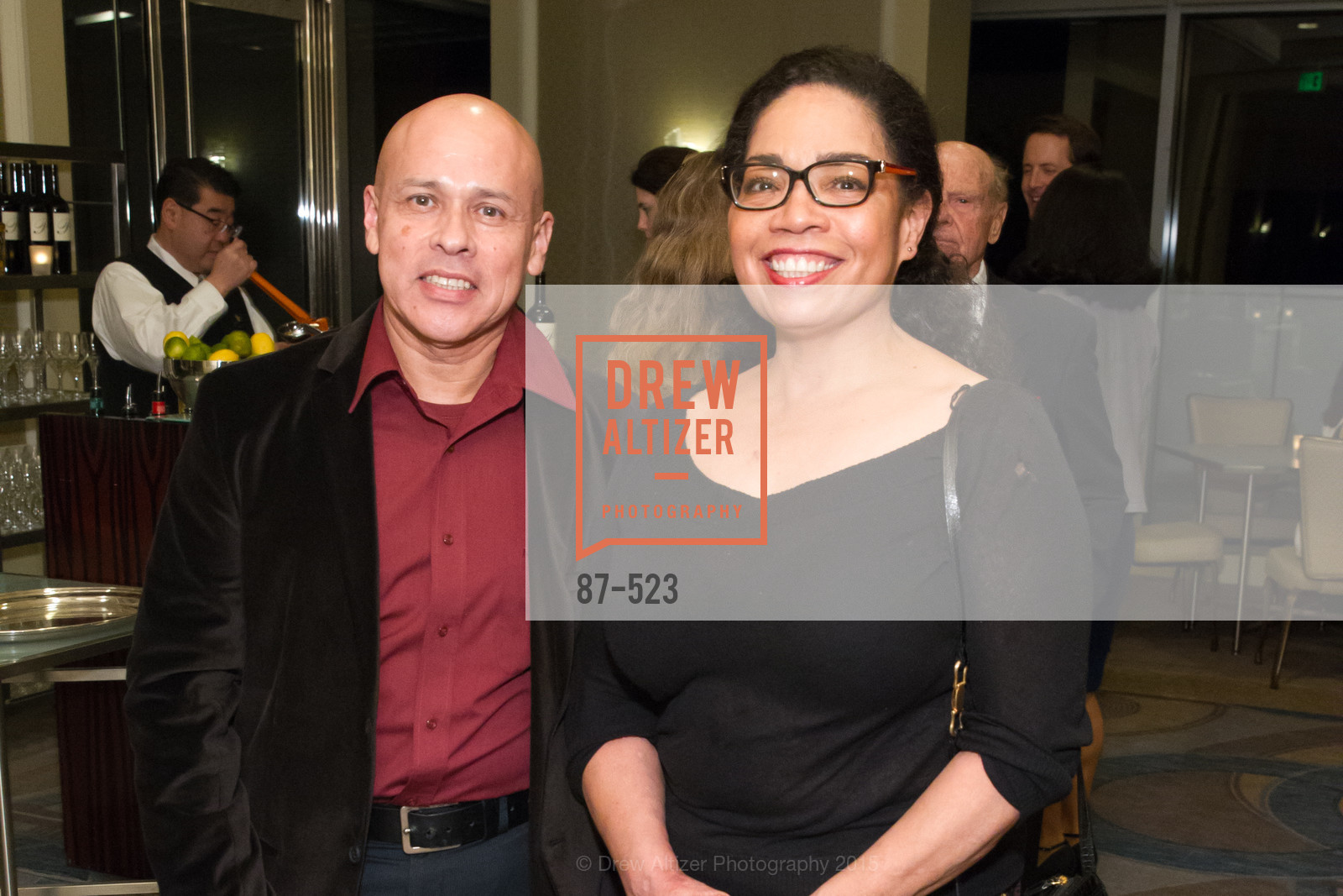 Julio Gomez, Alita Childs, San Francisco Education Fund's 33rd Annual Back to School Gala, Four Seasons Hotel. 757 Market Street, November 12th, 2015,Drew Altizer, Drew Altizer Photography, full-service agency, private events, San Francisco photographer, photographer california