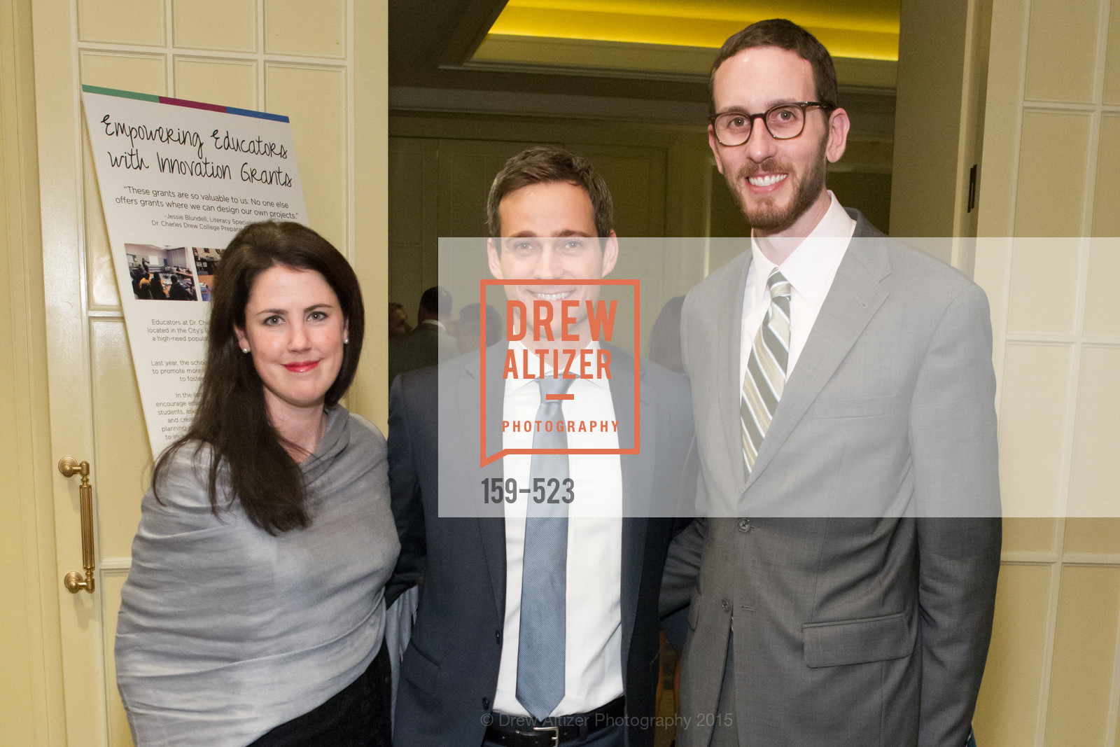 Katie Reese, Alex Reese, Scott Wiener, San Francisco Education Fund's 33rd Annual Back to School Gala, Four Seasons Hotel. 757 Market Street, November 12th, 2015