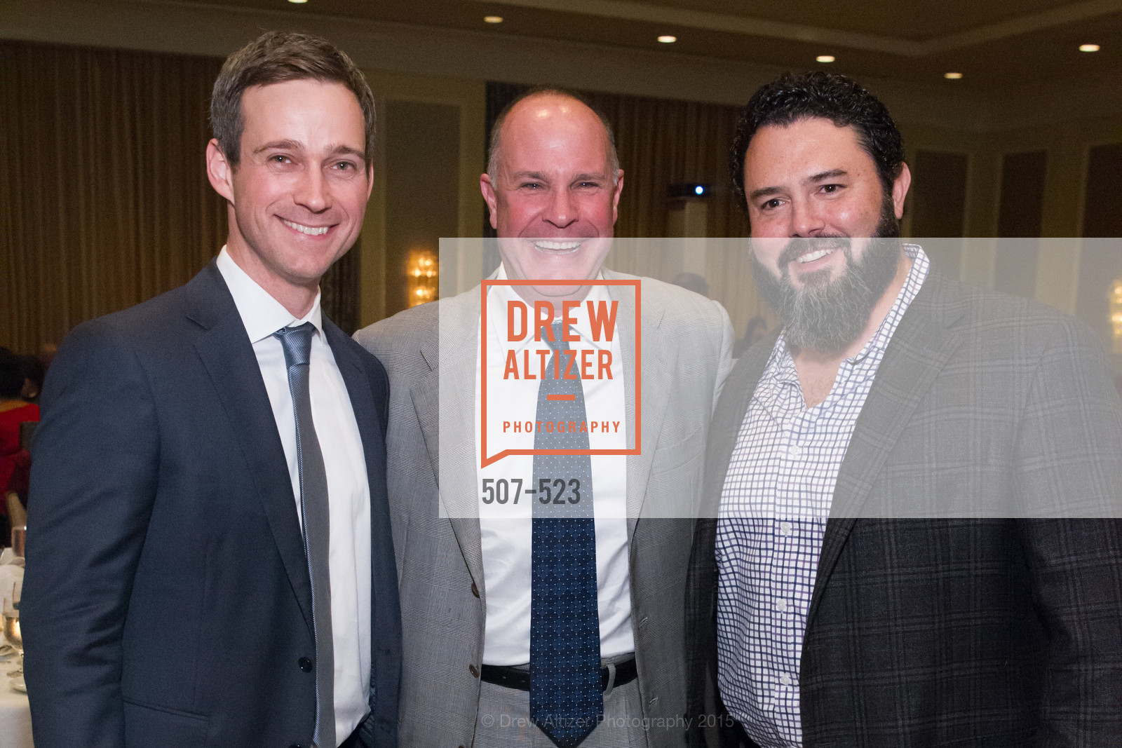 Alex Reese, John Chiatello, Tom Ecomonedes, San Francisco Education Fund's 33rd Annual Back to School Gala, Four Seasons Hotel. 757 Market Street, November 12th, 2015,Drew Altizer, Drew Altizer Photography, full-service agency, private events, San Francisco photographer, photographer california