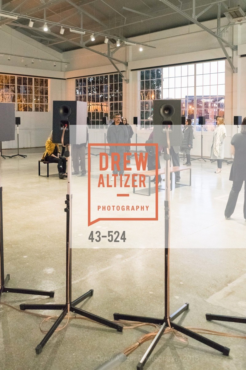 Atmosphere, The Forty Part Motet Evening Preview Celebration, Fort Mason Center, Building A. 2 Marina Blvd, November 12th, 2015,Drew Altizer, Drew Altizer Photography, full-service event agency, private events, San Francisco photographer, photographer California