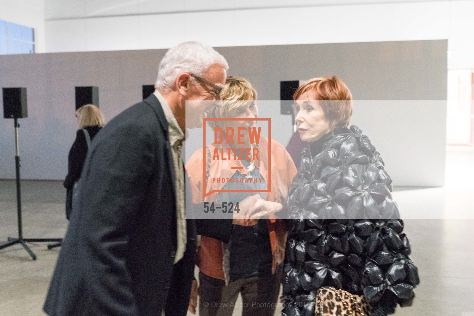 Andrew Pilara, Mary Pilara, Norah Stone, The Forty Part Motet Evening Preview Celebration, Fort Mason Center, Building A. 2 Marina Blvd, November 12th, 2015,Drew Altizer, Drew Altizer Photography, full-service agency, private events, San Francisco photographer, photographer california