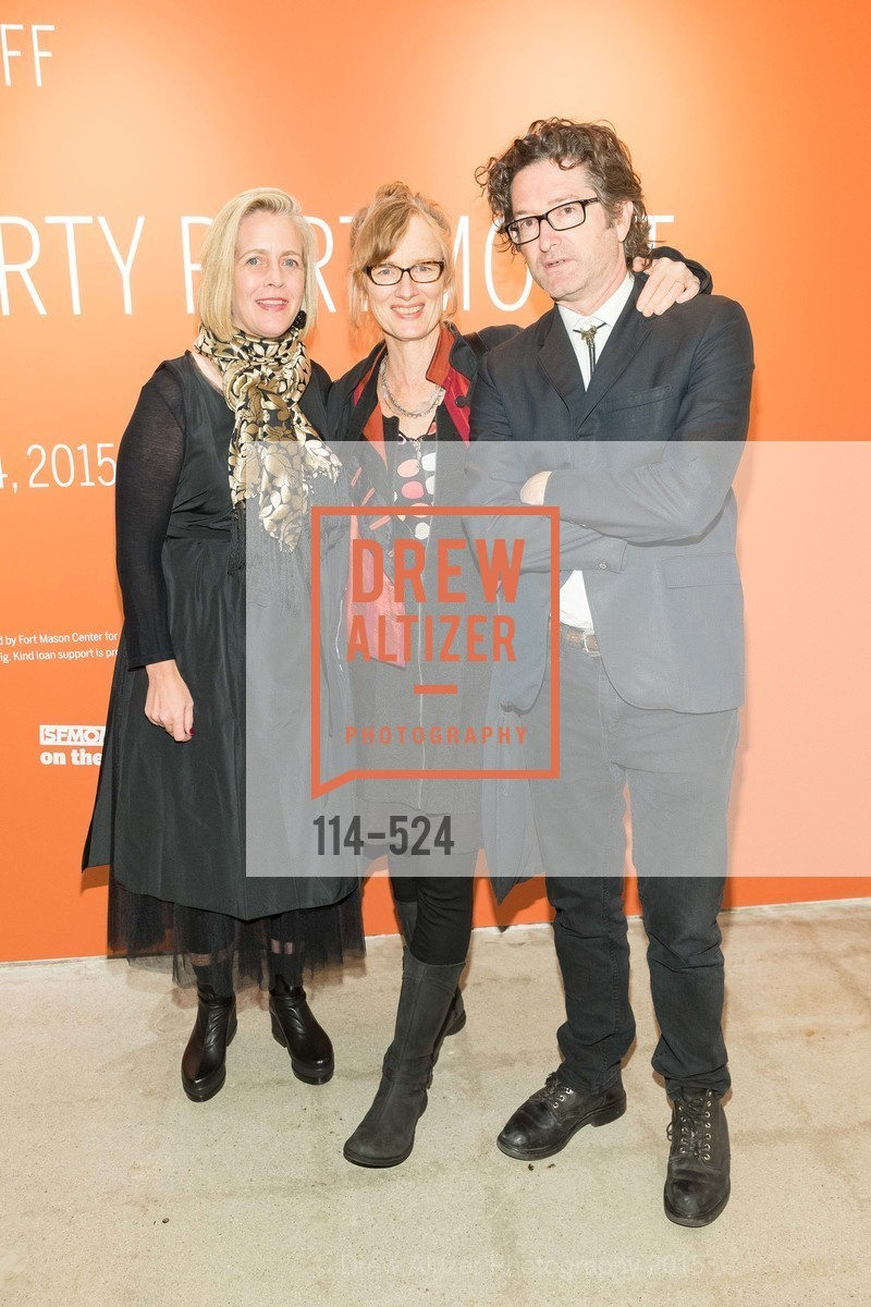 Marnie Burke de Guzman, Janet Cardiff, George Bures Miller, The Forty Part Motet Evening Preview Celebration, Fort Mason Center, Building A. 2 Marina Blvd, November 12th, 2015,Drew Altizer, Drew Altizer Photography, full-service agency, private events, San Francisco photographer, photographer california