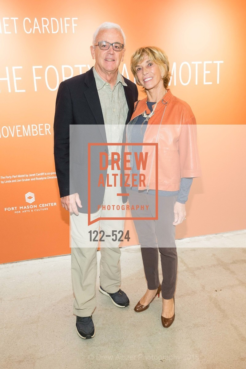 Andrew Pilara, Mary Pilara, The Forty Part Motet Evening Preview Celebration, Fort Mason Center, Building A. 2 Marina Blvd, November 12th, 2015,Drew Altizer, Drew Altizer Photography, full-service agency, private events, San Francisco photographer, photographer california