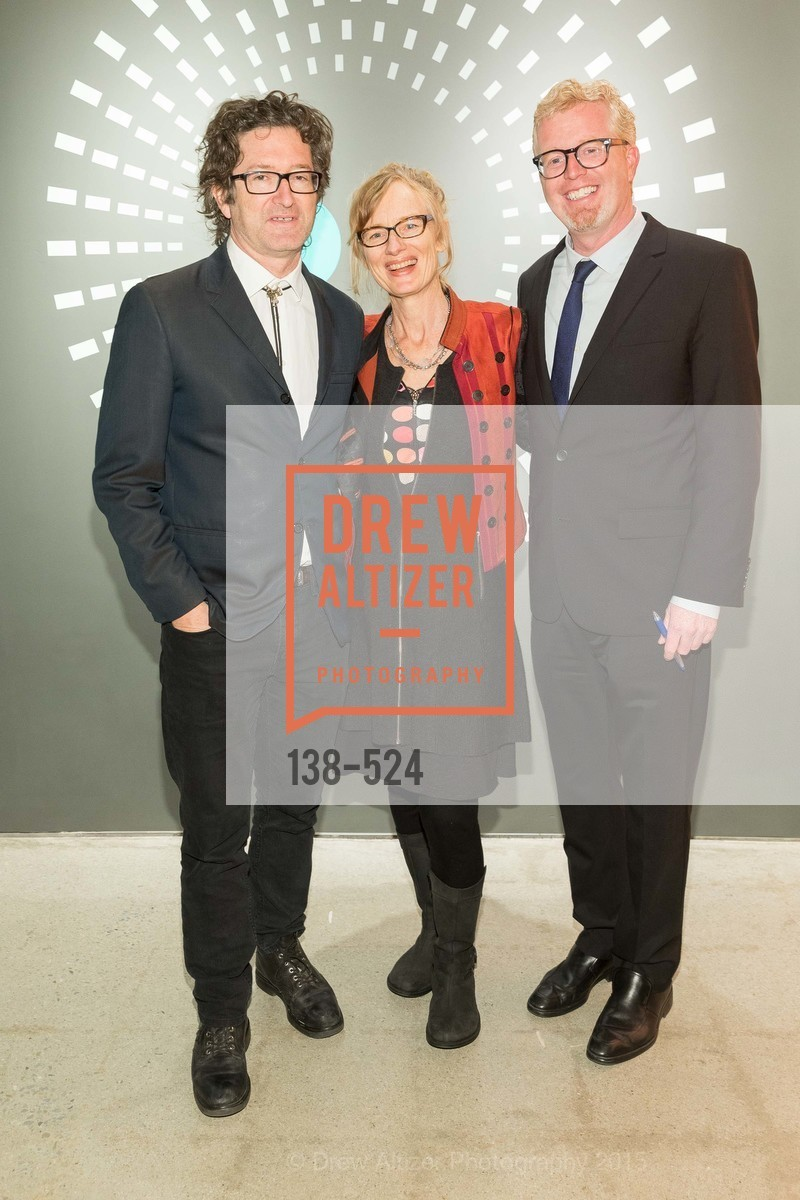 George Bures Miller, Janet Cardiff, Rich Hillis, The Forty Part Motet Evening Preview Celebration, Fort Mason Center, Building A. 2 Marina Blvd, November 12th, 2015,Drew Altizer, Drew Altizer Photography, full-service agency, private events, San Francisco photographer, photographer california