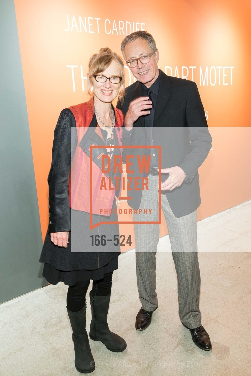 Janet Cardiff, Rudolf Frieling, The Forty Part Motet Evening Preview Celebration, Fort Mason Center, Building A. 2 Marina Blvd, November 12th, 2015,Drew Altizer, Drew Altizer Photography, full-service agency, private events, San Francisco photographer, photographer california