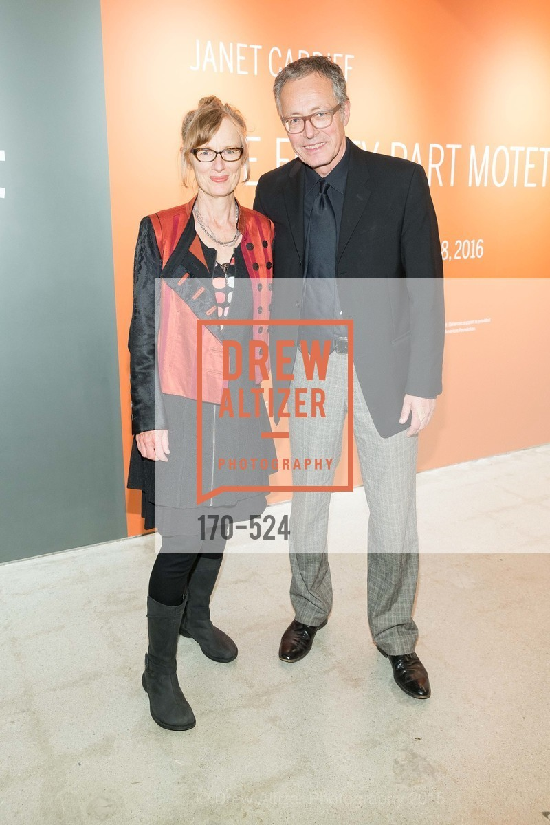 Janet Cardiff, Rudolf Frieling, The Forty Part Motet Evening Preview Celebration, Fort Mason Center, Building A. 2 Marina Blvd, November 12th, 2015,Drew Altizer, Drew Altizer Photography, full-service event agency, private events, San Francisco photographer, photographer California
