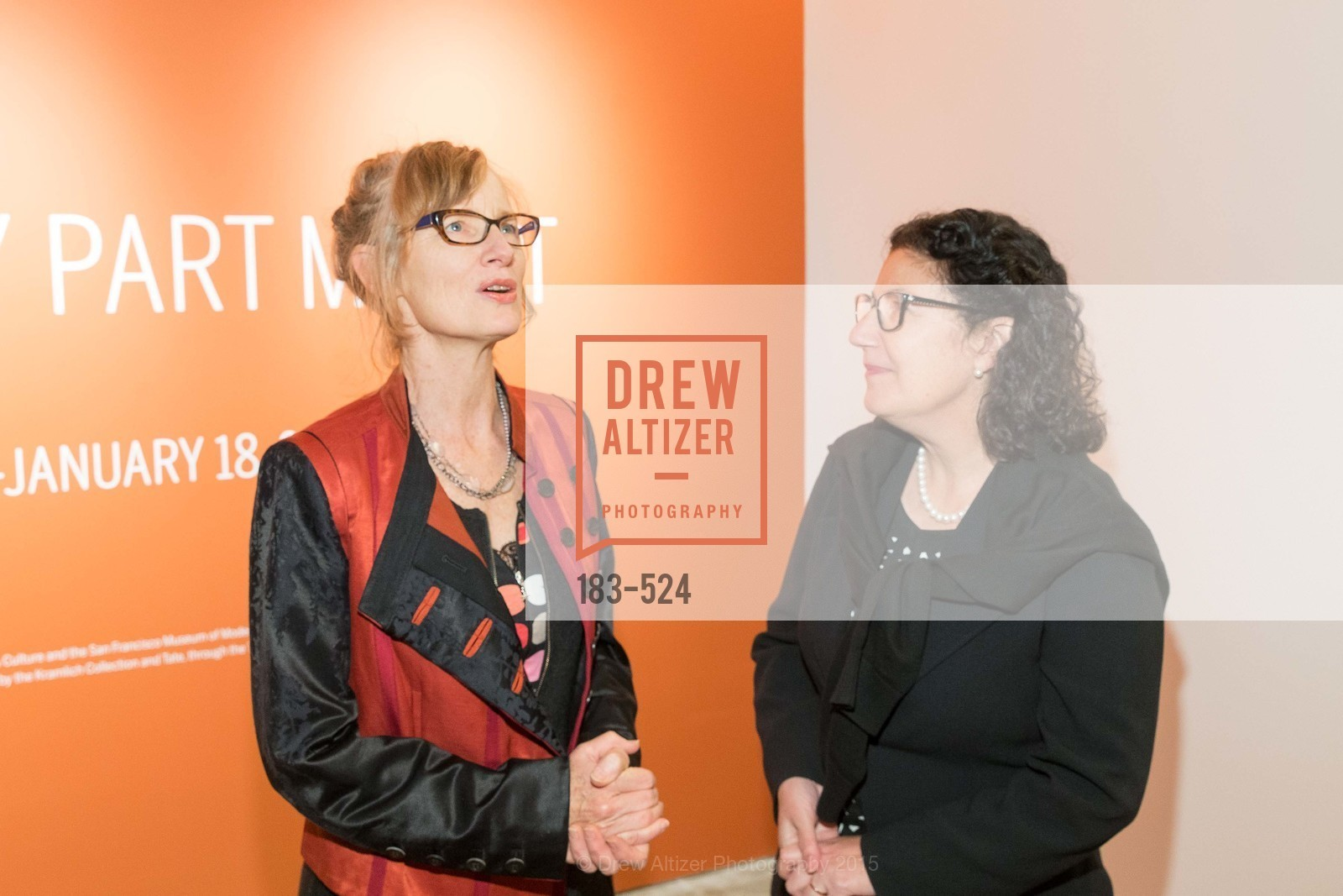 Janet Cardiff, Ruth Berson, The Forty Part Motet Evening Preview Celebration, Fort Mason Center, Building A. 2 Marina Blvd, November 12th, 2015,Drew Altizer, Drew Altizer Photography, full-service agency, private events, San Francisco photographer, photographer california