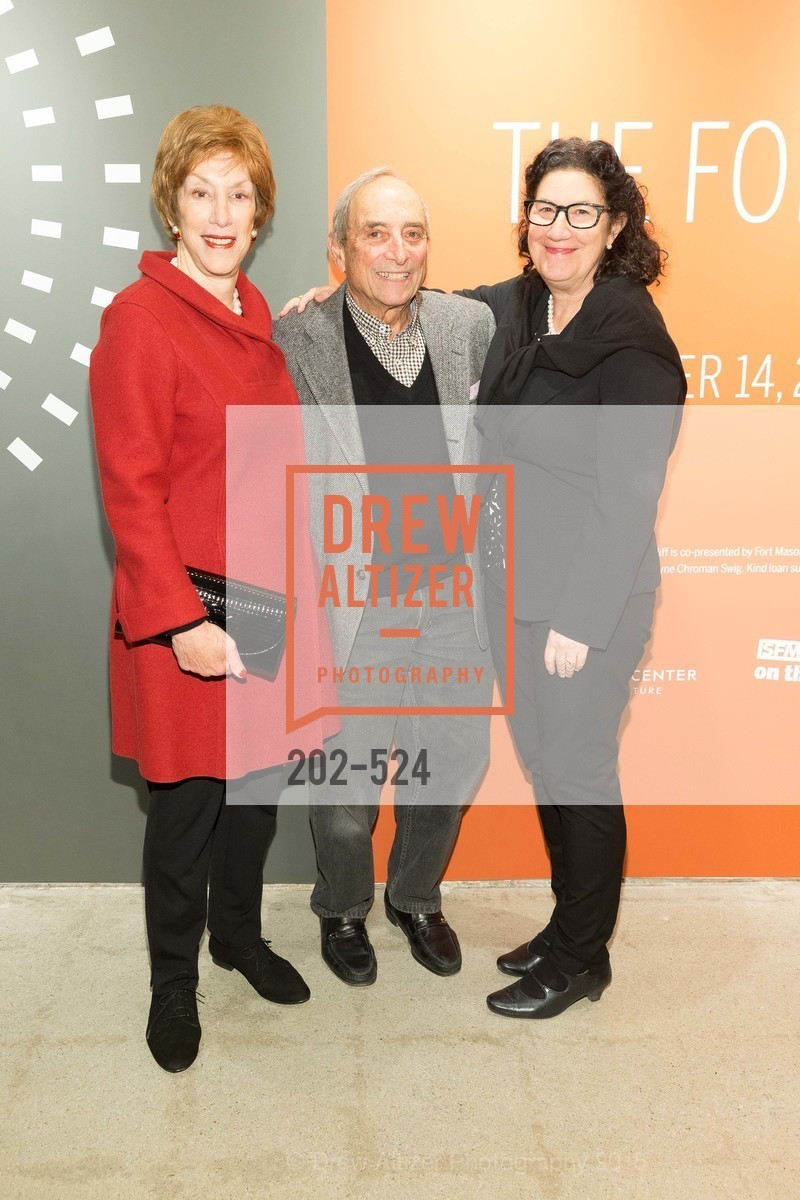 Diane Frankel, Chuck Frankel, Ruth Berson, The Forty Part Motet Evening Preview Celebration, Fort Mason Center, Building A. 2 Marina Blvd, November 12th, 2015,Drew Altizer, Drew Altizer Photography, full-service agency, private events, San Francisco photographer, photographer california