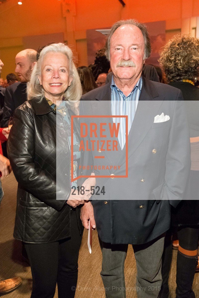 Susie McBaine, Pat McBaine, The Forty Part Motet Evening Preview Celebration, Fort Mason Center, Building A. 2 Marina Blvd, November 12th, 2015,Drew Altizer, Drew Altizer Photography, full-service agency, private events, San Francisco photographer, photographer california
