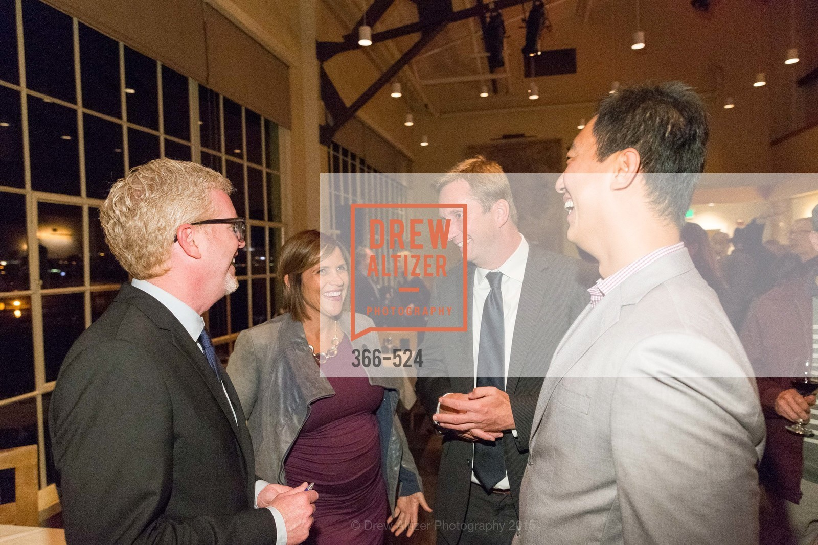 Rich Hillis, Sarah Madland, Nick Kinzie, Mark Tao, The Forty Part Motet Evening Preview Celebration, Fort Mason Center, Building A. 2 Marina Blvd, November 12th, 2015,Drew Altizer, Drew Altizer Photography, full-service event agency, private events, San Francisco photographer, photographer California