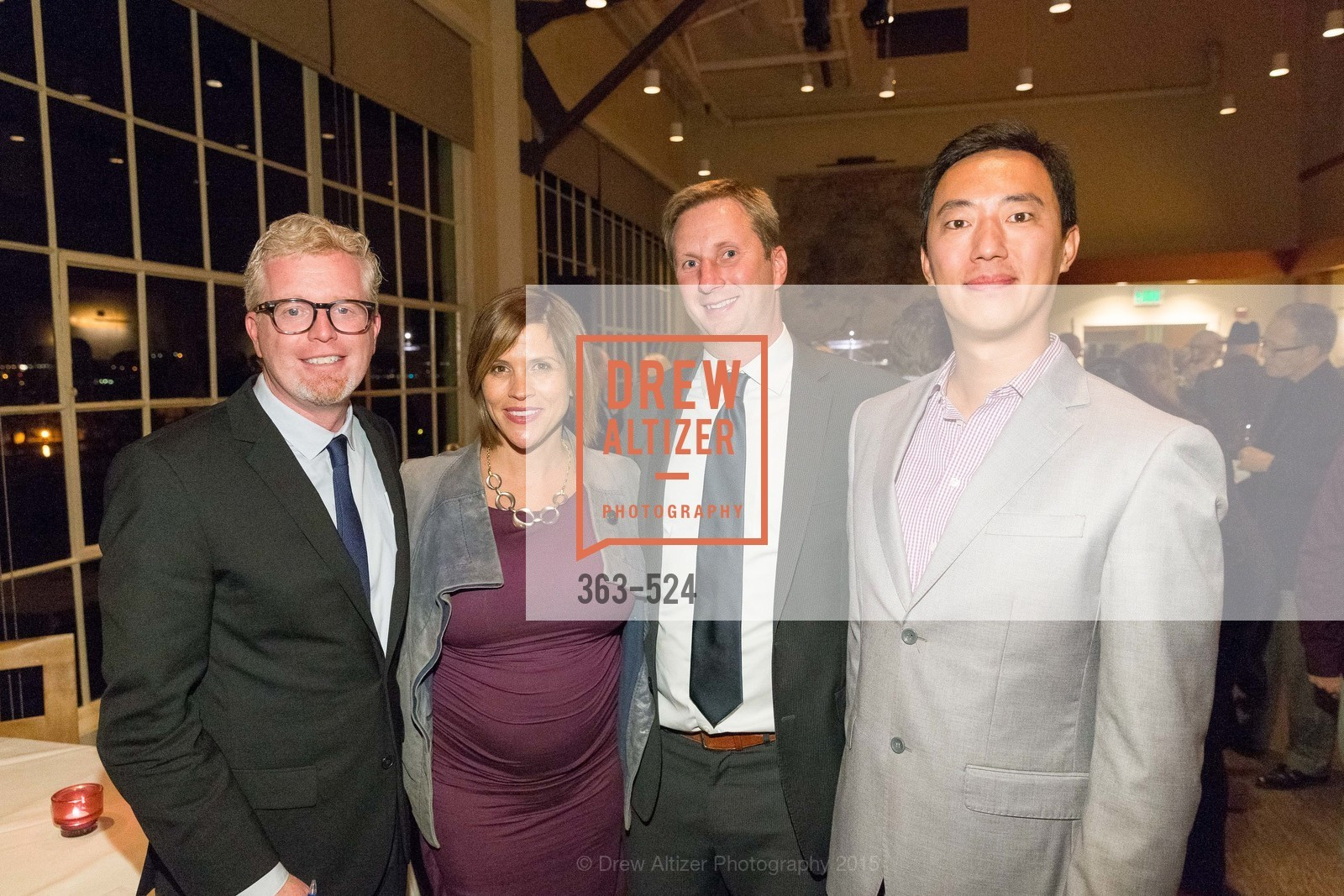 Rich Hillis, Sarah Madland, Nick Kinzie, Mark Tao, The Forty Part Motet Evening Preview Celebration, Fort Mason Center, Building A. 2 Marina Blvd, November 12th, 2015,Drew Altizer, Drew Altizer Photography, full-service agency, private events, San Francisco photographer, photographer california