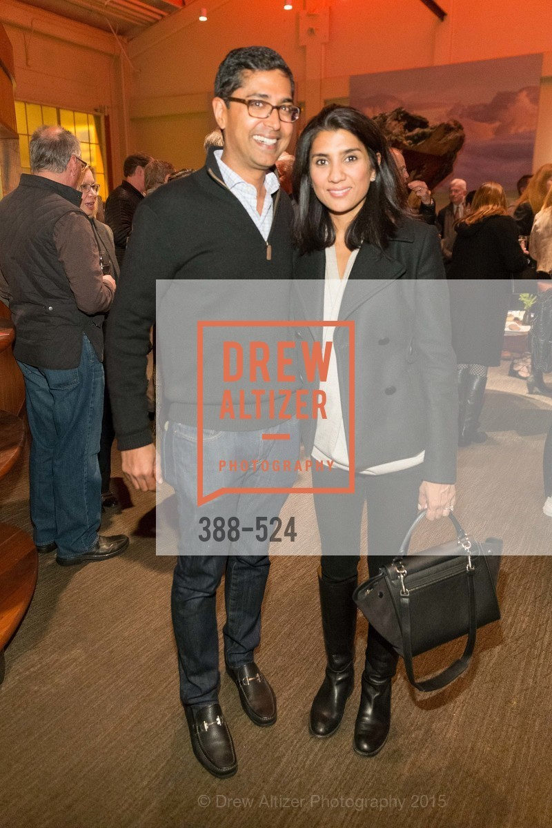 Ravin Agrawal, Alka Agrawal, The Forty Part Motet Evening Preview Celebration, Fort Mason Center, Building A. 2 Marina Blvd, November 12th, 2015,Drew Altizer, Drew Altizer Photography, full-service agency, private events, San Francisco photographer, photographer california