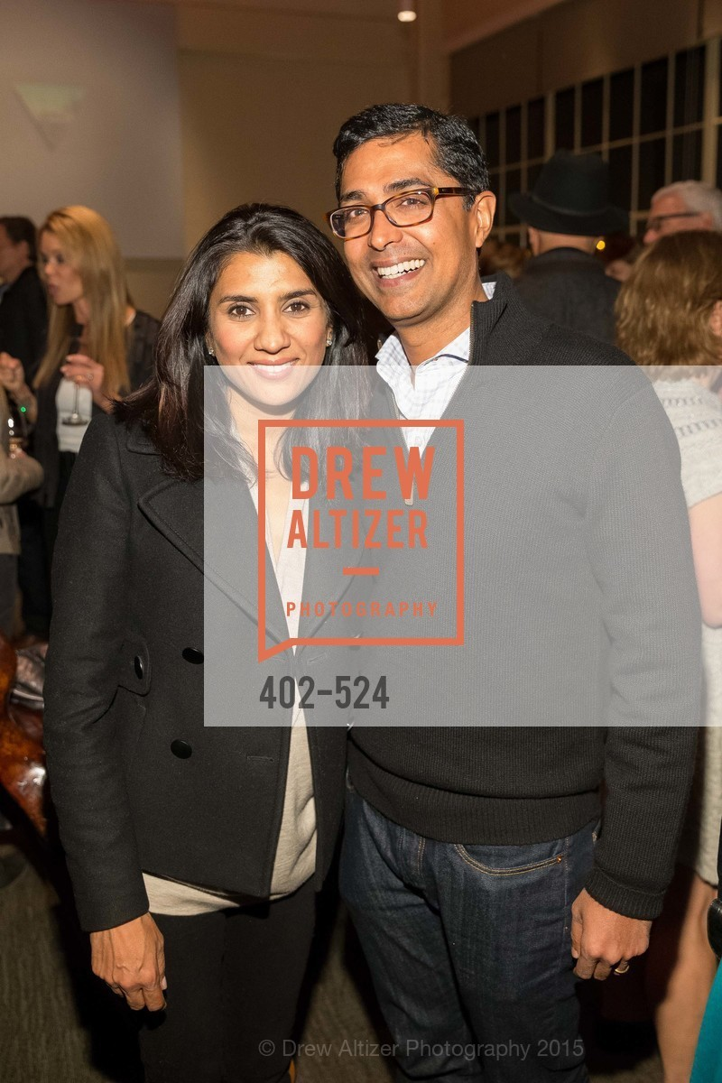 Alka Agrawal, Ravin Agrawal, The Forty Part Motet Evening Preview Celebration, Fort Mason Center, Building A. 2 Marina Blvd, November 12th, 2015,Drew Altizer, Drew Altizer Photography, full-service agency, private events, San Francisco photographer, photographer california