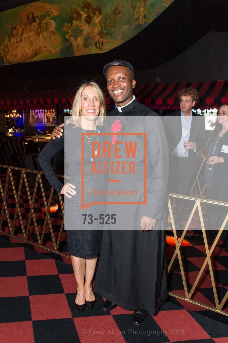 Amy Rao, Fr. Bernard Kinvi, Human Rights Watch Voices for Justice, Bimbo's. 2525 Van Ness St, November 12th, 2015,Drew Altizer, Drew Altizer Photography, full-service agency, private events, San Francisco photographer, photographer california