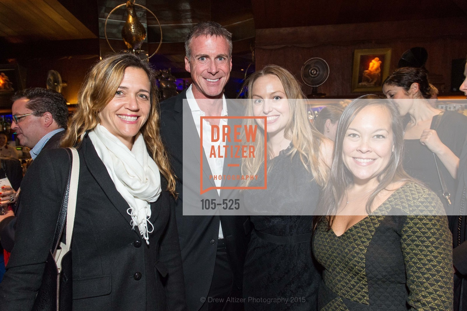 Courtney Landis, John Monagle, Andrea Fitanides, Stephanie Johnson, Human Rights Watch Voices for Justice, Bimbo's. 2525 Van Ness St, November 12th, 2015,Drew Altizer, Drew Altizer Photography, full-service agency, private events, San Francisco photographer, photographer california