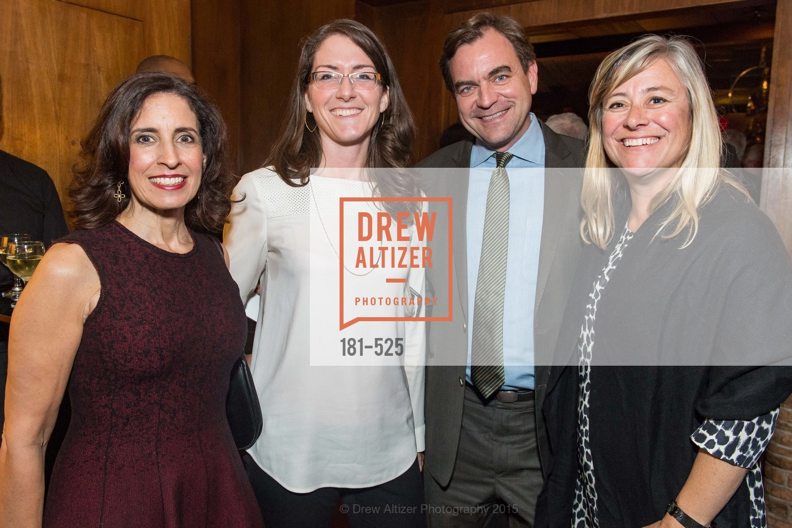 Darian Swig, Liz Rockett, Will Fitzpatrick, Libby Marsh, Human Rights Watch Voices for Justice, Bimbo's. 2525 Van Ness St, November 12th, 2015,Drew Altizer, Drew Altizer Photography, full-service agency, private events, San Francisco photographer, photographer california