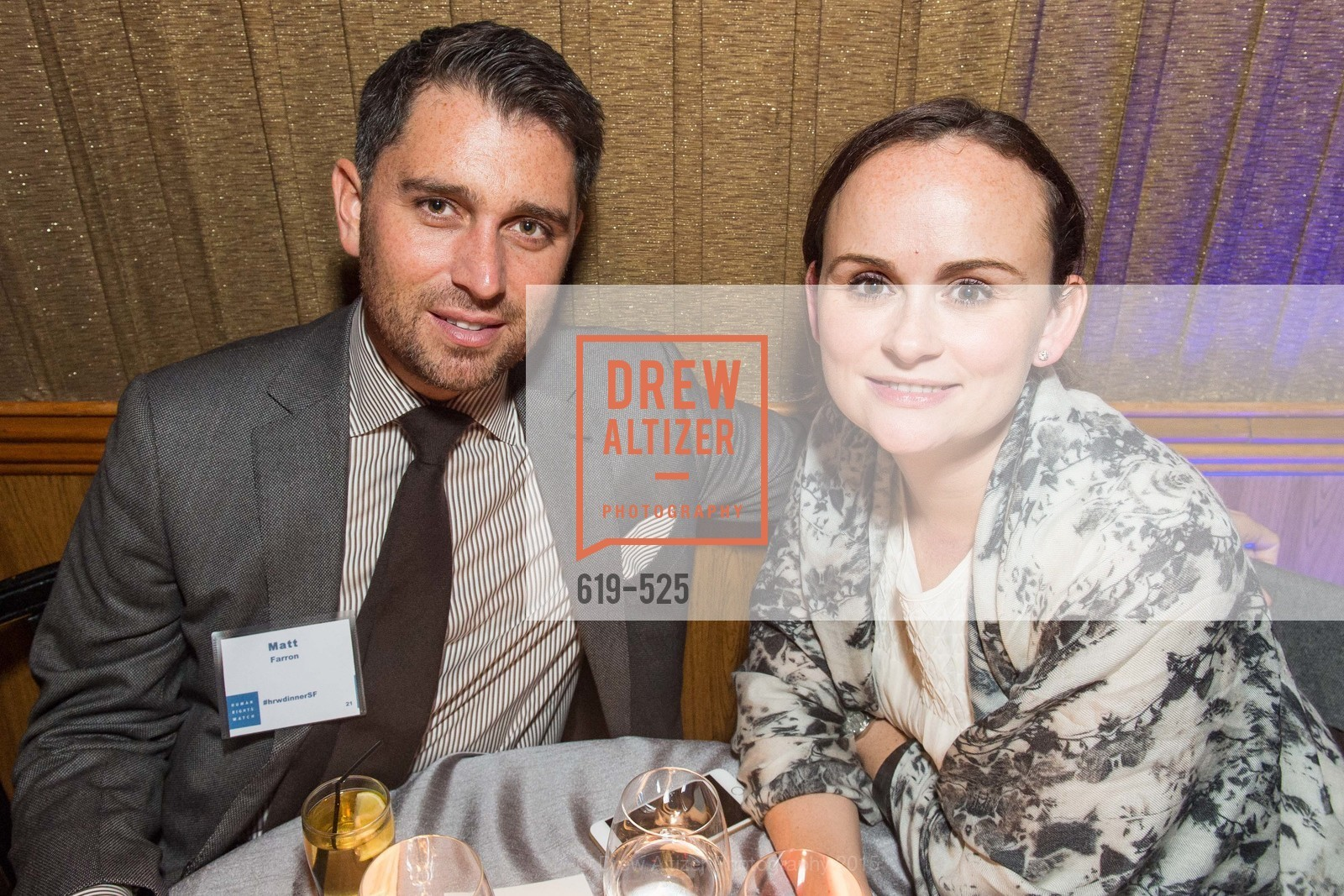 Matt Farron, Jessica Farron, Human Rights Watch Voices for Justice, Bimbo's. 2525 Van Ness St, November 12th, 2015,Drew Altizer, Drew Altizer Photography, full-service agency, private events, San Francisco photographer, photographer california