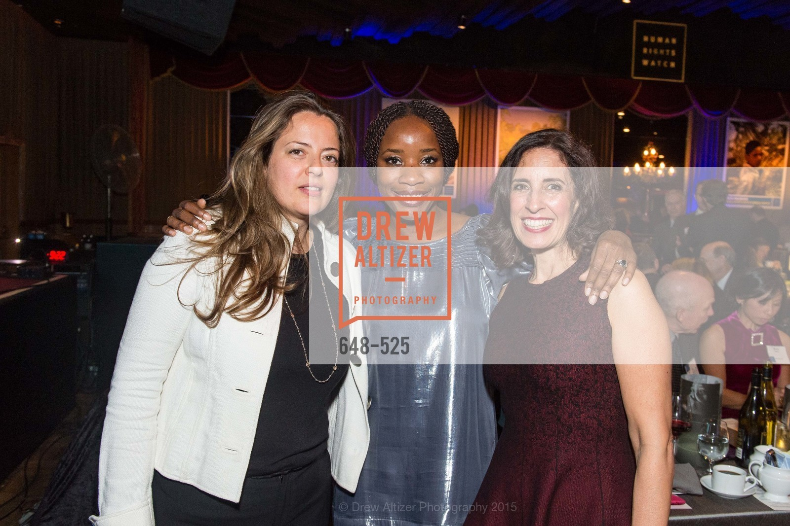 Tina Roman, Edna Togba, Darian Swig, Human Rights Watch Voices for Justice, Bimbo's. 2525 Van Ness St, November 12th, 2015,Drew Altizer, Drew Altizer Photography, full-service agency, private events, San Francisco photographer, photographer california