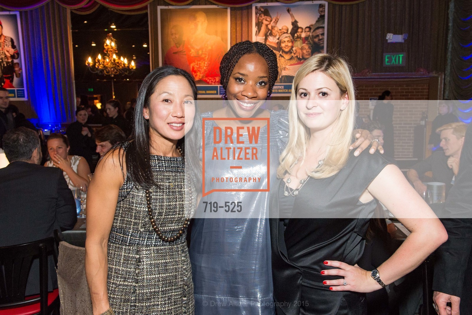 Christine Scheibel, Edna Togba, Human Rights Watch Voices for Justice, Bimbo's. 2525 Van Ness St, November 12th, 2015,Drew Altizer, Drew Altizer Photography, full-service agency, private events, San Francisco photographer, photographer california