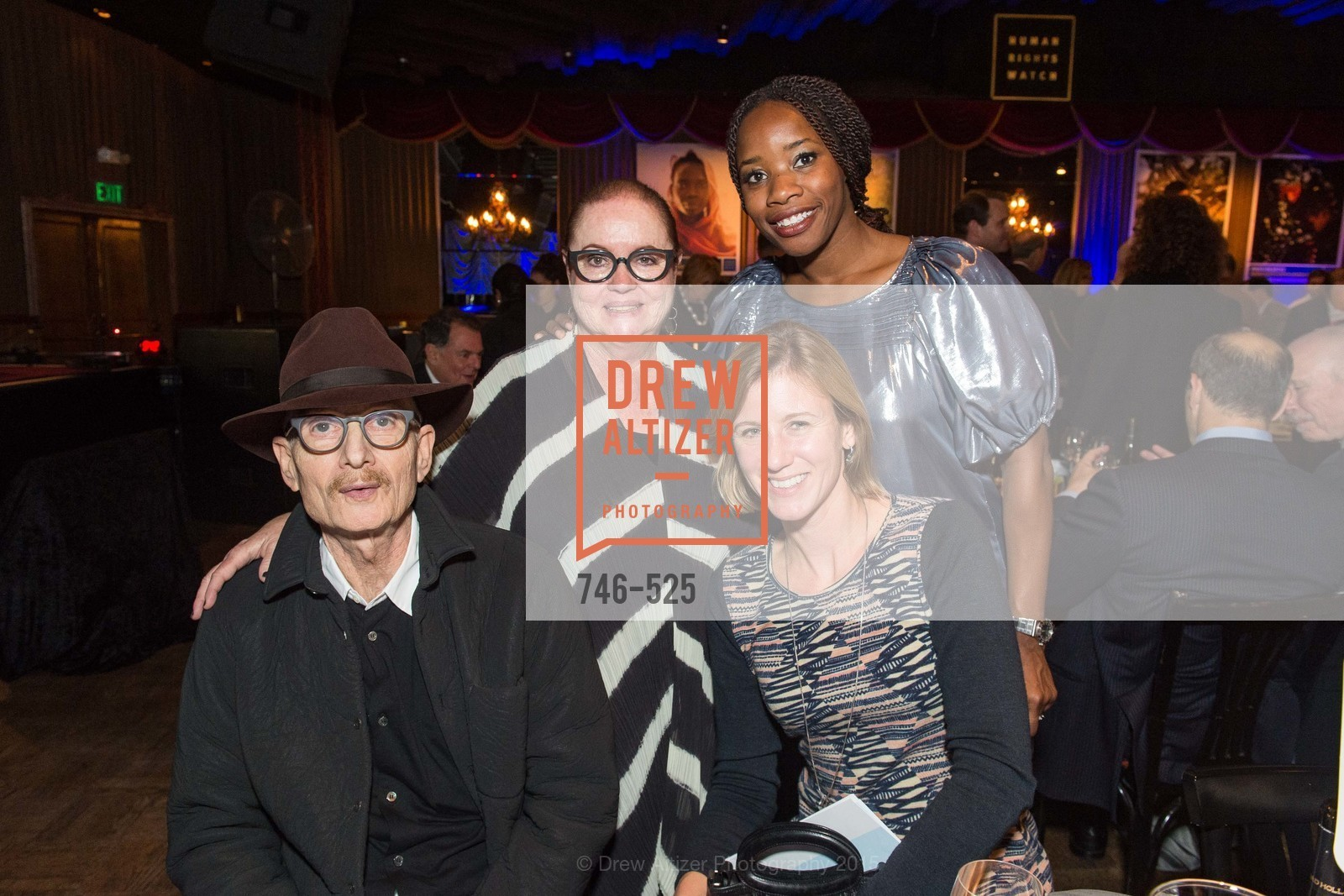 Gordon Freund, Chara Schreyer, Caroline Silverstein, Edna Togba, Human Rights Watch Voices for Justice, Bimbo's. 2525 Van Ness St, November 12th, 2015,Drew Altizer, Drew Altizer Photography, full-service agency, private events, San Francisco photographer, photographer california