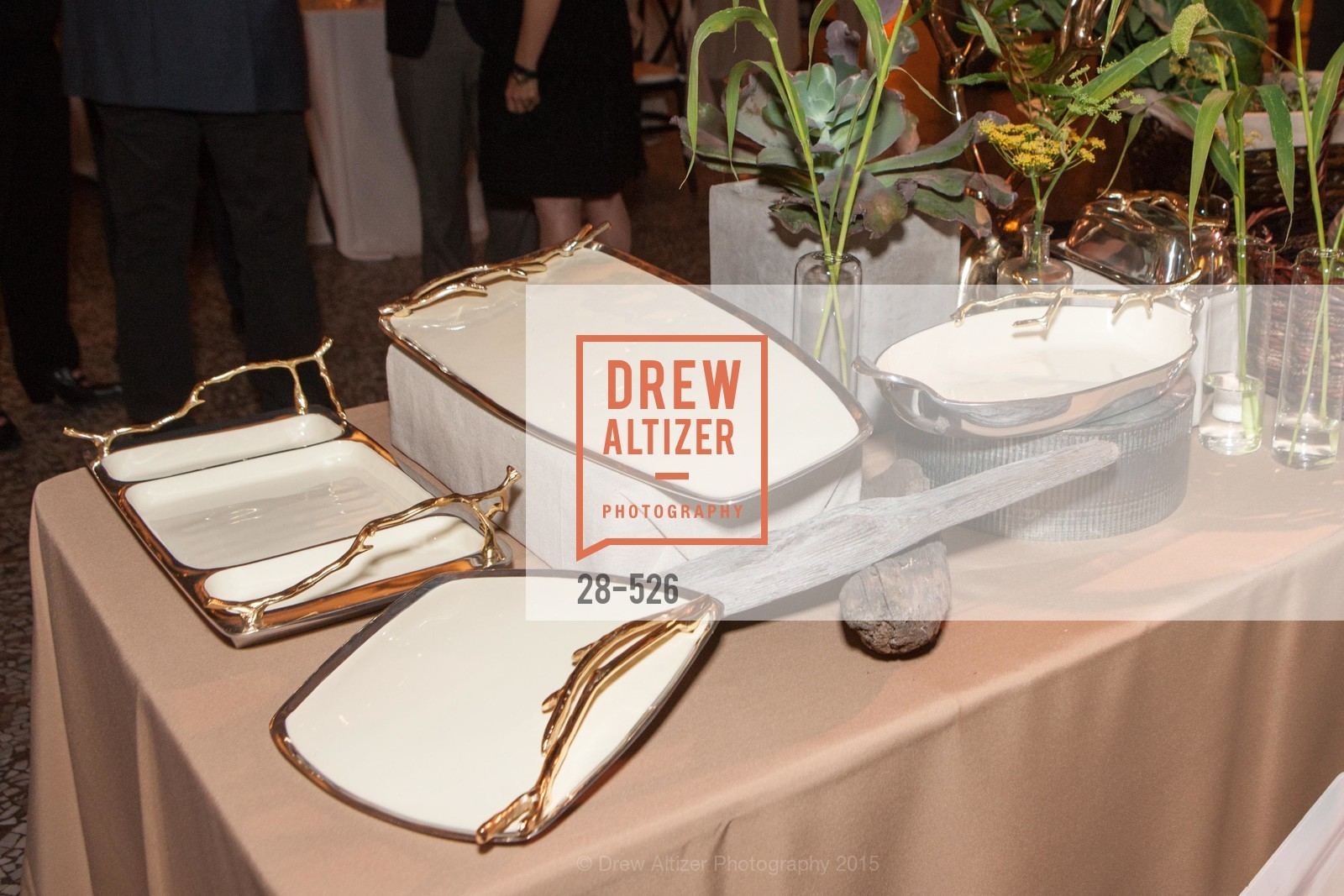 Atmosphere, Slide Ranch Silver Trowel Awards Dinner & Fundraiser, San Francisco Ferry Building. 2525 Van Ness St, November 12th, 2015