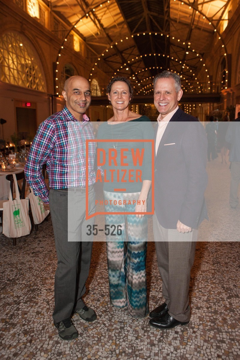 Sunil Paul, Marika Bergsund, Jeff Clarke, Slide Ranch Silver Trowel Awards Dinner & Fundraiser, San Francisco Ferry Building. 2525 Van Ness St, November 12th, 2015,Drew Altizer, Drew Altizer Photography, full-service event agency, private events, San Francisco photographer, photographer California