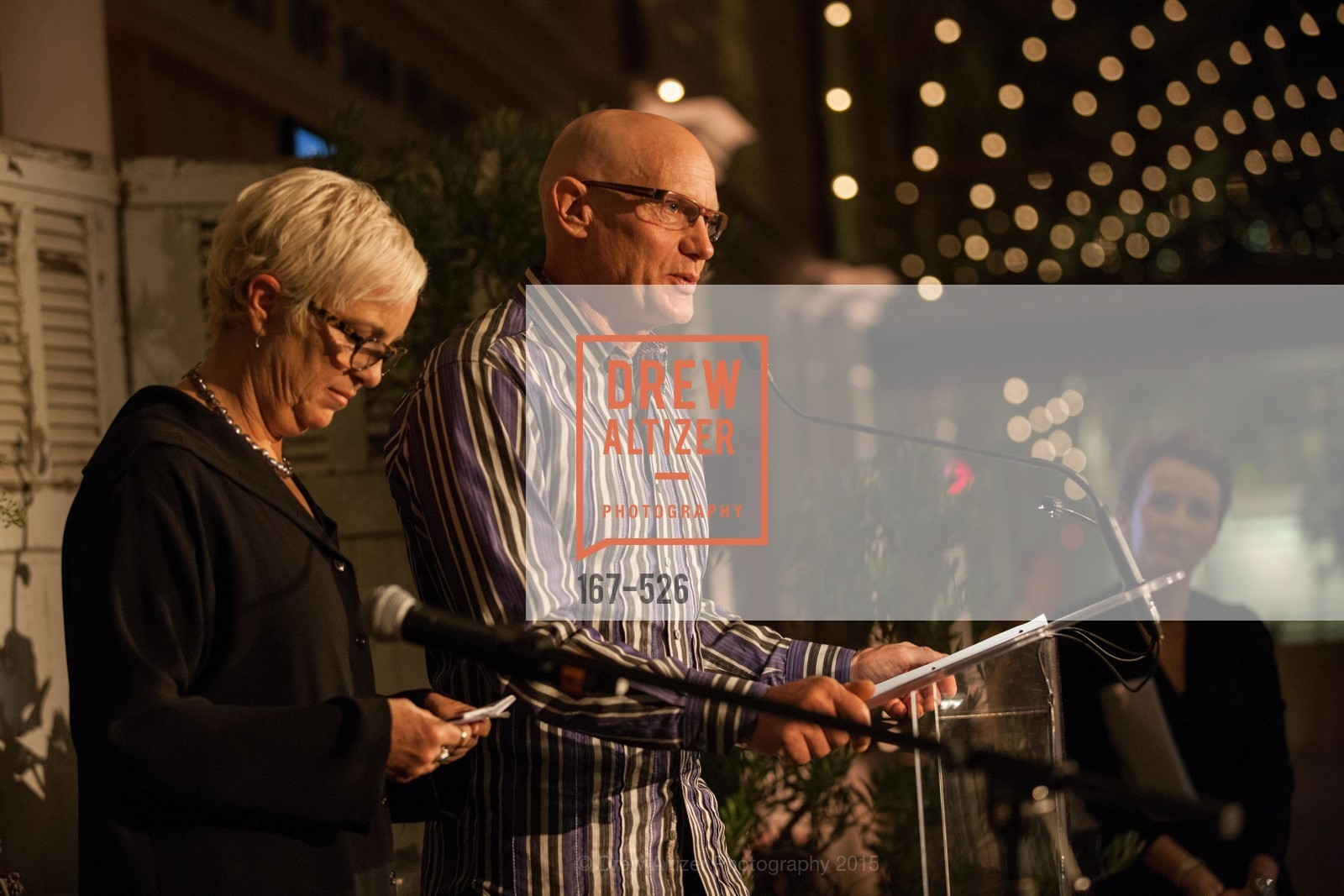 Kit Crawford, Gary Erickson, Slide Ranch Silver Trowel Awards Dinner & Fundraiser, San Francisco Ferry Building. 2525 Van Ness St, November 12th, 2015,Drew Altizer, Drew Altizer Photography, full-service agency, private events, San Francisco photographer, photographer california