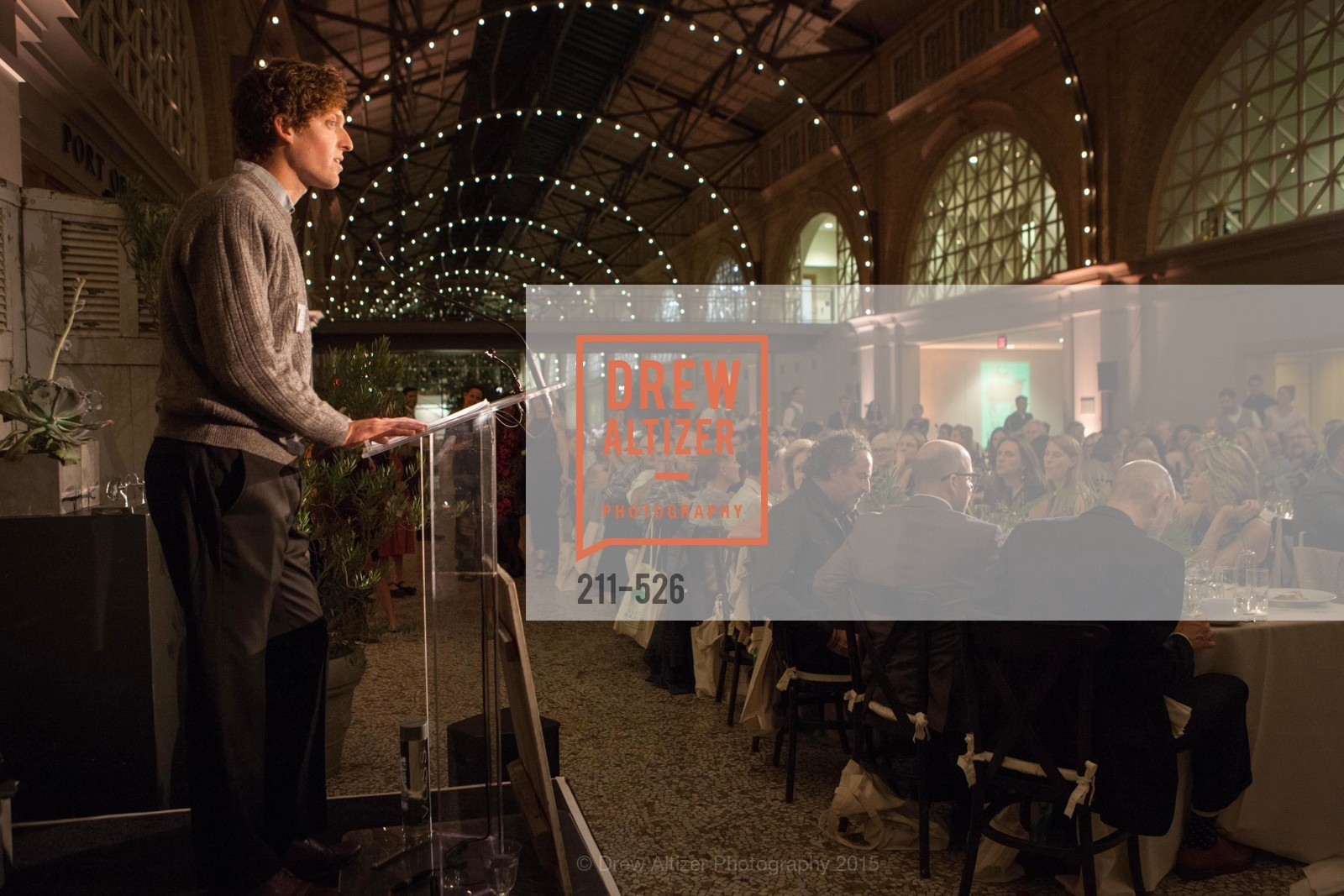 Silas Scheer, Slide Ranch Silver Trowel Awards Dinner & Fundraiser, San Francisco Ferry Building. 2525 Van Ness St, November 12th, 2015,Drew Altizer, Drew Altizer Photography, full-service agency, private events, San Francisco photographer, photographer california