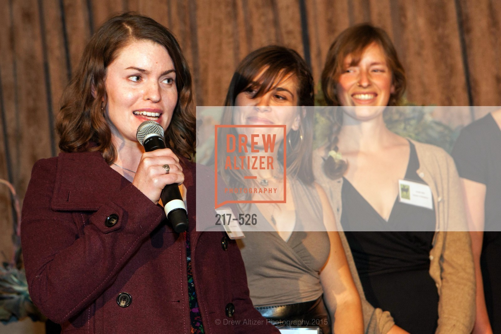 Eileen Shanahan, Gabrielle Baird, Jordan Mills, Slide Ranch Silver Trowel Awards Dinner & Fundraiser, San Francisco Ferry Building. 2525 Van Ness St, November 12th, 2015,Drew Altizer, Drew Altizer Photography, full-service agency, private events, San Francisco photographer, photographer california