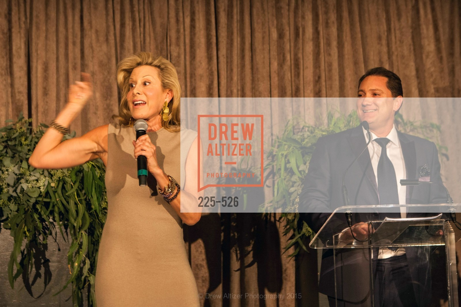 Jillian Manus, Liam Mayclem, Slide Ranch Silver Trowel Awards Dinner & Fundraiser, San Francisco Ferry Building. 2525 Van Ness St, November 12th, 2015