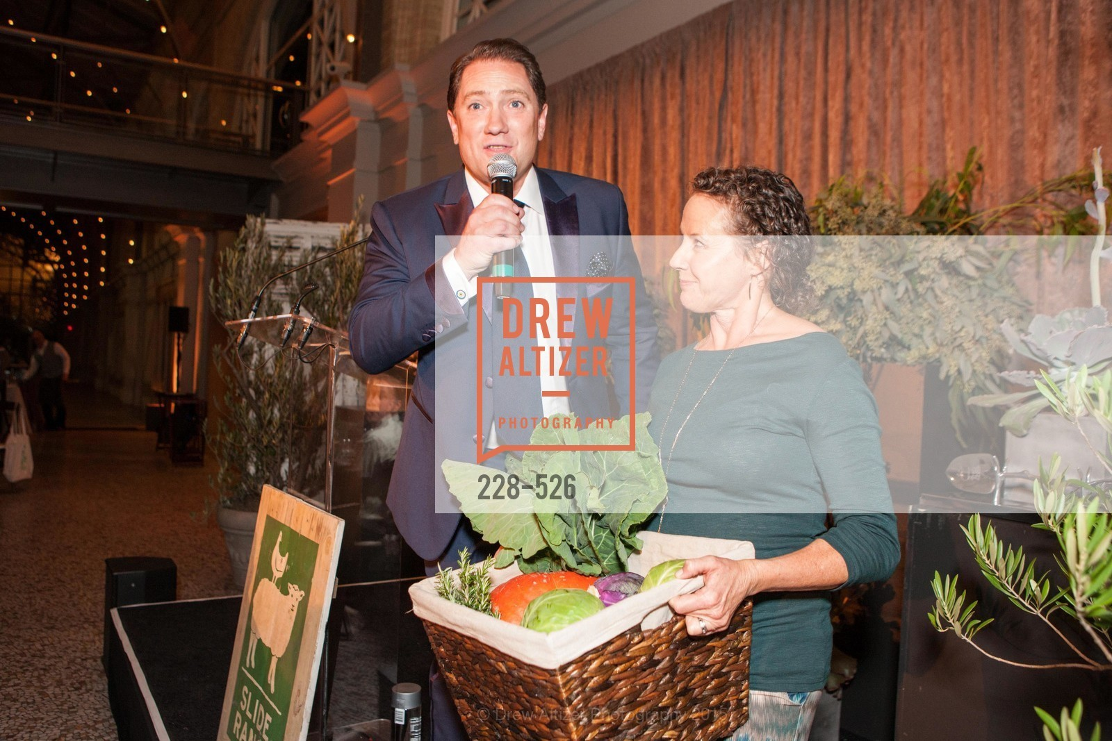 Liam Mayclem, Marika Bergsund, Slide Ranch Silver Trowel Awards Dinner & Fundraiser, San Francisco Ferry Building. 2525 Van Ness St, November 12th, 2015,Drew Altizer, Drew Altizer Photography, full-service agency, private events, San Francisco photographer, photographer california