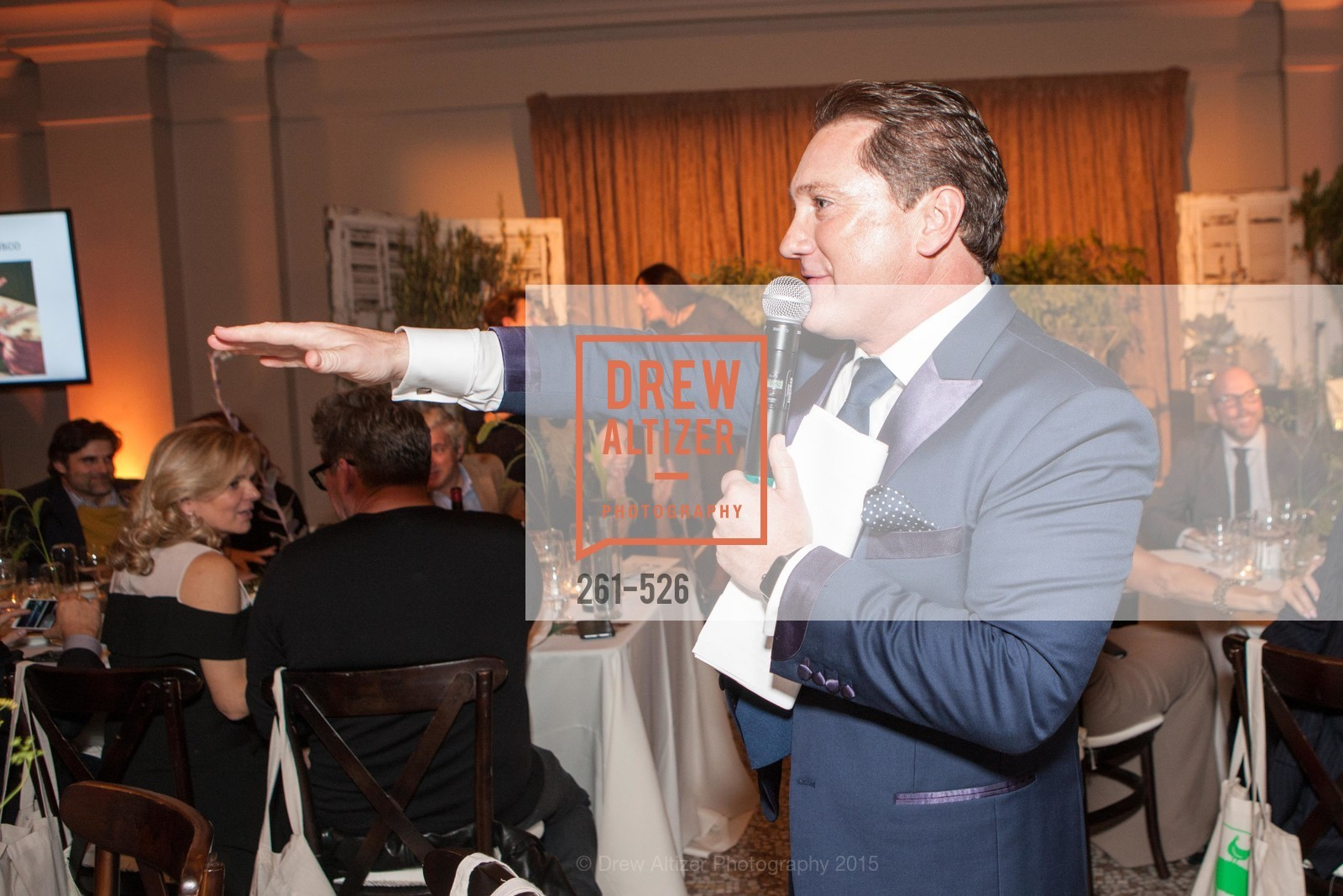 Liam Mayclem, Slide Ranch Silver Trowel Awards Dinner & Fundraiser, San Francisco Ferry Building. 2525 Van Ness St, November 12th, 2015,Drew Altizer, Drew Altizer Photography, full-service event agency, private events, San Francisco photographer, photographer California